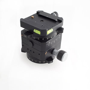 Linhof 3D Micro leveling head with Arca Swiss dove tail mount